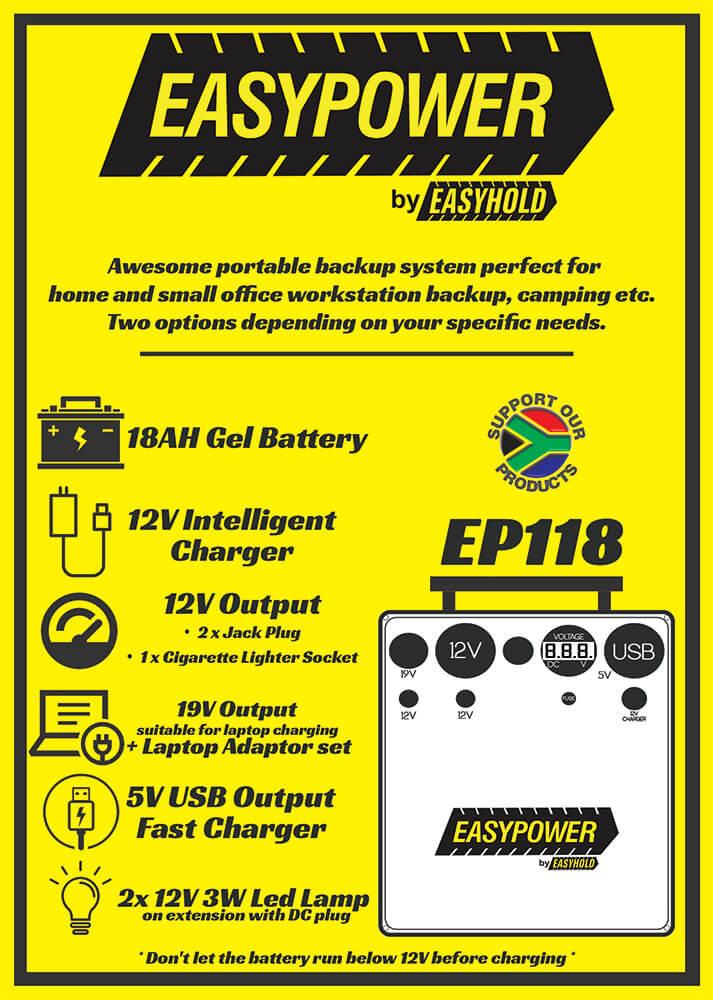 easy power ep 118